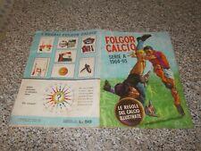 ALBUM CALCIATORI FOLGOR CALCIO 1964 1965 LA FOLGORE ORIG.COMPLETO(-78 FIG) BUONO