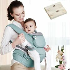 Mo+m Hip Seat Baby/&Toddlers–Block Seat//Cooling Window//Hood//Pocket//Bottle Pouch