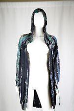 Hard Tail Women Jacket Size Small Hooded Draw String Tye Dye Light Weight