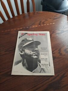SEPTEMBER 13,1969-THE SPORTING NEWS-MIKE CUELLAR OF THE BALTIMORE ORIOLES(MINT)