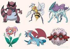 Ultra Pokemon Sun and Moon Mega-Beedrill Team 6IV-EV Trained