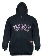 Oklahoma City Thunder Hoodie Youth XL Therma Base Full Zip Delay Majestic NBA
