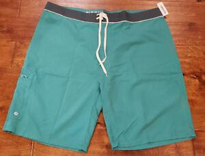 Men's Old Navy Sea Green Lightweight Summer Board Shorts Size 44 Tall