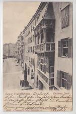 AK Innsbruck, Goldenes Dachl, Herzog Friedrichstrasse 1901
