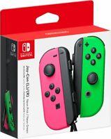🌟 NEW Nintendo Switch Joy Con Wireless Controller Official Joycon Pink Green 🌟