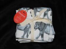Opalhouse Target 6 Pack Washcloths Gray Elephant Stripe Yellow Dot New Washcloth
