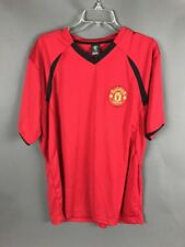 Manchester United MU Soccer Shirt Jersey Red XL Patch Small Snag Sleeve