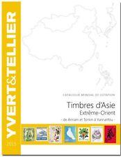 CATALOGO YVERT&TELLIER 2015 Asia ed Estremo Oriente