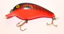 CORdell Big O Red & Black Vintage Fishing Lure ET27