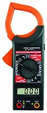 New Dt266 Digital Clamp Meter Acdc Multimeter Ohmmeter Current Continuity Buzzer