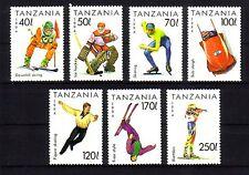 Michel Tanzania numero 1705 - 1711 tagliate post freschi Lillehammer (31)