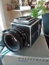 [near MINT]Hasselblad 500C/M + 80mm Zeiss Planar CF Lens + A12 Film Magazine