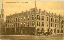 Postcard Buckman Hotel, Little Falls, Minnesota