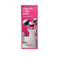 Candy O Lady Cake Pop Candy Facial Mask Sheet Pack 5 Pcs Korean Cosmetics