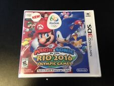Mario & Sonic at the Rio 2016 Olympic Games Nintendo 3DS Brand New