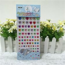 Adhesivo Corazón Brillante Pegatinas 3-10 mm RS127 tarjetas hechas a mano de Scrapbook