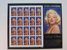 MARILYN MONROE 1995 Full Uncut 32-cent 20-Stamp Sheet - MINT New (Scotts #2967)