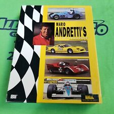 Mario Andretti's Racing Challenge (1991) - Retail Box - PC Game - MS-DOS VERSION