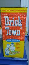 Brick Town Scale Model Construction Set, Tri-State Plastic, Bt-800 set