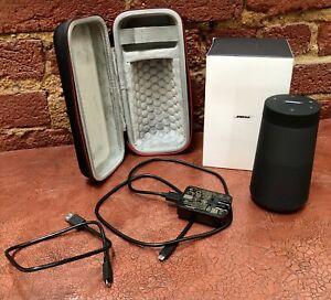 Black Bose SoundLink Resolve Bluetooth Speaker Wireless Powerful Water Resistant