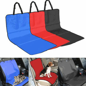 Pet Dog Cat Car Seat Cover Front Back Adjustable Waterproof Blanket Protector MH