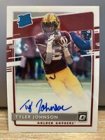 2020 Donruss Optic Tyler Johnson Rated Rookie RC Prizm Holo Silver On Card Auto