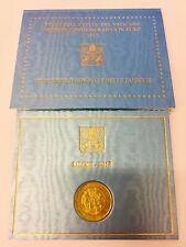 Vaticano, 2 euros conmemorativa 2012, 7. reuniones mundial de la familia, original-folder