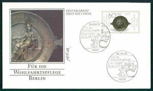 GERMANY FDC 1987 GOLDSMITH SILVERSMITH ART JEWELLERY ff57