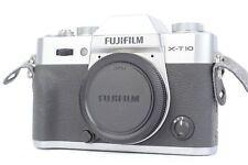 Fujifilm X-T10 16.3MP Mirrorless Digital Camera (Body Only) - Silver  #P1112
