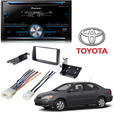 Pioneer Bluetooth Toyota Corolla 2003-2008 Double Din Car Stereo Dash Kit
