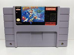 Mega Man X -- SNES Super Nintendo Original Classic Authentic Game