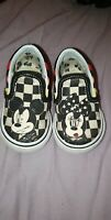 infant size 3 disney vans