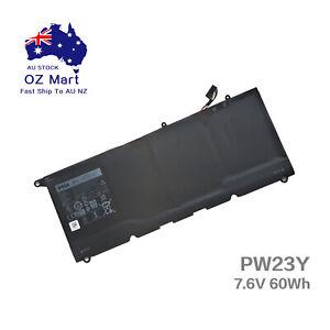 Genuine PW23Y Battery for XPS 13 9360 13-9360-D1505G RNP72 TP1GT 7.6V 60Wh