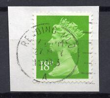 GB = QE2 Postmark - `READING MLO / (A)` 1993 Single Ring cancel (za)
