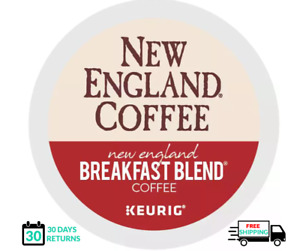 New England Breakfast Blend Keurig Coffee K-cups YOU PICK THE SIZE