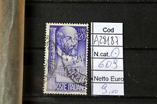 FRANCOBOLLI ITALIA REPUBBLICA USATI N. 609 (A28187)