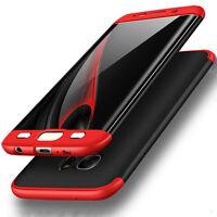 Bakeey™ Double Extrémités 360° Dur PC Cover Etui Pour Samsung Galaxy S7 Edge