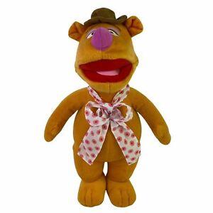 Disney Muppet Fozzie Bear Stuffed Animal Plush Toy 45 cm Pre-Loved