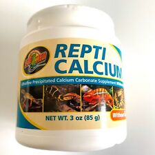 New listing Repti Calcium Reptile Ultrafine Powder Supplement Without D3 Blue 3oz Zoo Med