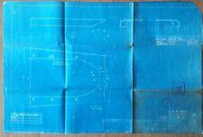 More details for lner blue print fin for water scoop stamped doncaster 1949 & 4f