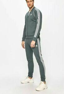 MED adidas Originals MEN'S Prime Blue Superstar TRACKSUIT Jackets & Pants  LAST1