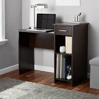 Student Desk Table Project Dorm Computer Laptop Home Office Shelving Wood Drawer