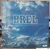 JACQUES BREL BREL LP 33T VINYLE N-MINT+ /  COVER EX - ORIGINAL 1977