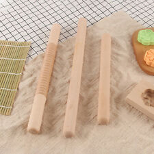 Wooden Rolling Pin Pastry Flour Cake Dough Roller Kitchen Baking Tool