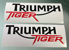 "Fairing / Tank Decal Stickers for Triumph Tiger ""800"" (PAIR) (Any Colour)"