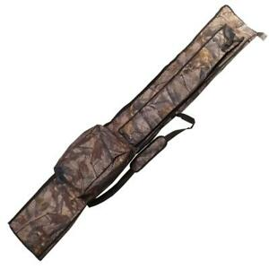 Oakwood Camo Rod Holdall Bag 2+2 For 12ft Rods Carp Fishing Tackle