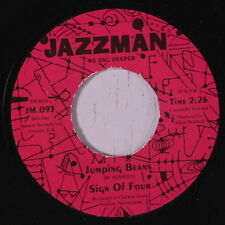 SIGN OF FOUR: Jumping Beans / Samba Electronico 45 (UK, reissue) Soul