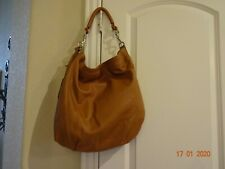 NICOLI LEATHER SHOULDER BAG FROM MILAN ITALY EUC