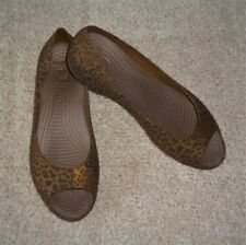 Animal Print Rubber Flats for Women