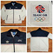 ADIDAS 2012 London Olympics Team GB Windbreaker Jacket Great Britain, Sz Men's L